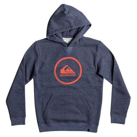 Quiksilver otroška jopa Big Logo Hood Youth, mornarsko modra, XL/16