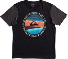 Quiksilver Ss classic tee youth last tree