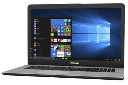 Asus prenosnik VivoBook Pro N705UD-GC104T i7-8550U/16G/SSD256GB+1TB/1050/W10Home (90NB0GA1-M01760)