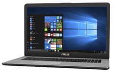 Asus prenosnik VivoBook Pro N705UN-GC076 i5-8250U/8G/SSD256GB+1TB/MX150/EndlessOS (90NB0GV1-M00930)