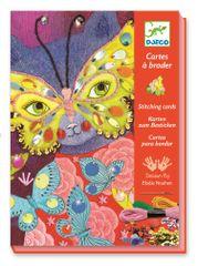 Djeco Prošívací obrázky Elegantní karnevalové masky