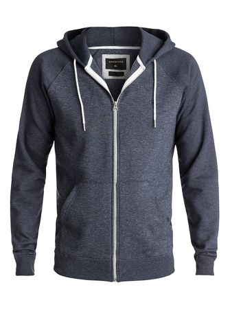 Quiksilver moška jopa s kapuco Everydayzip Navy Heather, temno modra, XL
