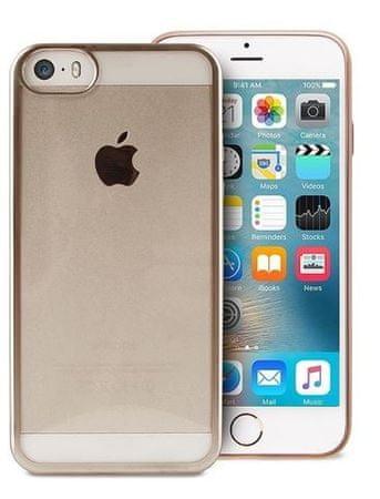 Puro maskica Satin za iPhone 5/5S/SE, zlatna