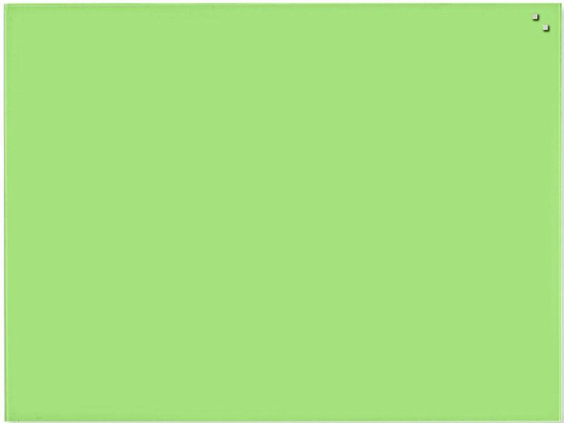 Skleněná magnetická tabule NAGA světle zelená 60x80 cm