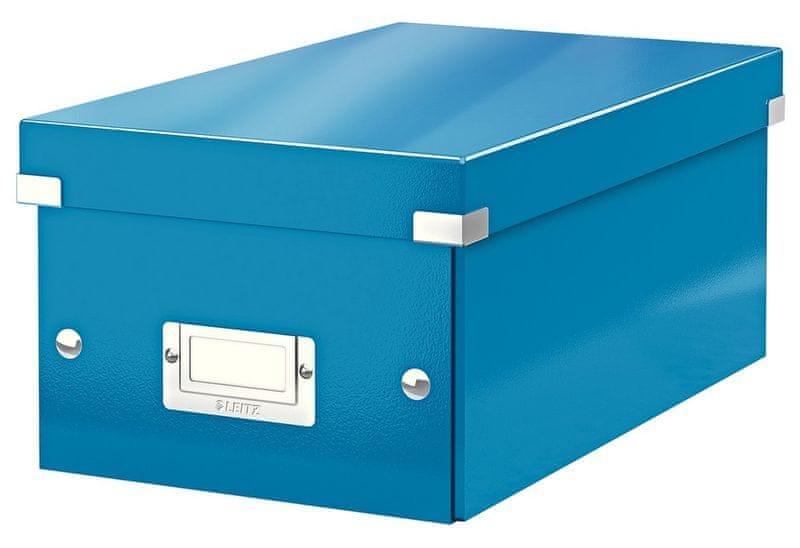 Krabice CLICK & STORE na DVD, modrá