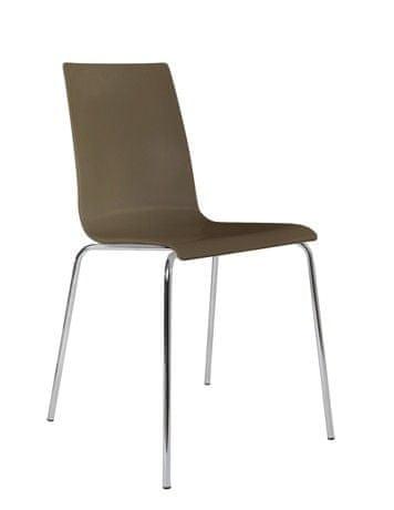 Konferenční židle Laura hnědá