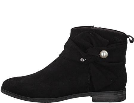 s.Oliver buty za kostkę damskie 36 czarny