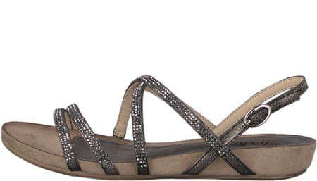 s.Oliver ženski sandali, 37, črni