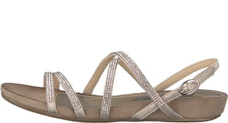 s.Oliver ženski sandali, 36, zlati