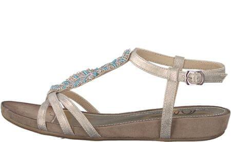 s.Oliver ženski sandali, 38, zlati