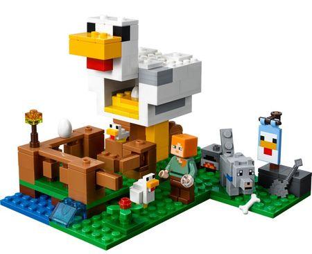 LEGO Minecraft 21140 Tyúkól