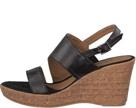 s.Oliver ženski sandali, 36, črne