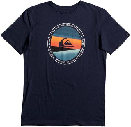 Quiksilver moška majica SsClassicTeeLastTree, mornarsko modra, L