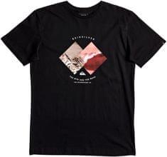 Quiksilver moška majica SsClassicPleasureZone, črna