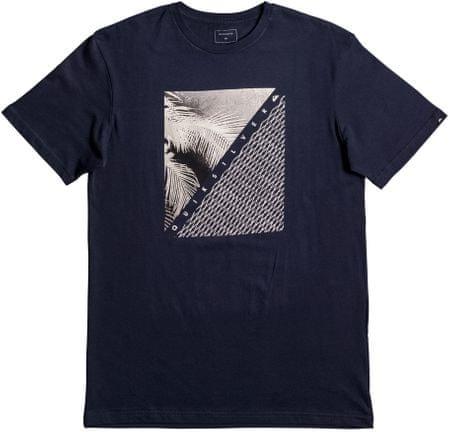 Quiksilver moška majica SsClassicCoastLines, modra, L