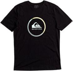 Quiksilver moška majica SsClassicTeesActiveLogo, črna