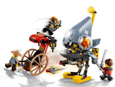 LEGO NINJAGO 70629 Pirajin napad