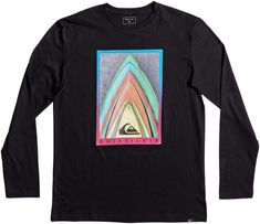 Quiksilver męska koszulka Ls classic tee stacked