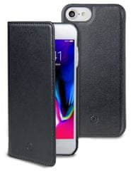 Celly Magnetické pouzdro CELLY GHOSTWALLY pro Apple iPhone 7/8, kompatibilní s GHOST držáky, černé