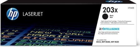 HP toner LaserJet 203X, črn