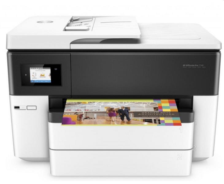 HP Officejet Pro 7740 (G5J38A) + Cashback 1 000 Kč!