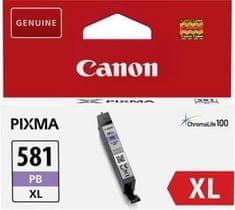 Canon kartuša CLI-581 XL PB, modra
