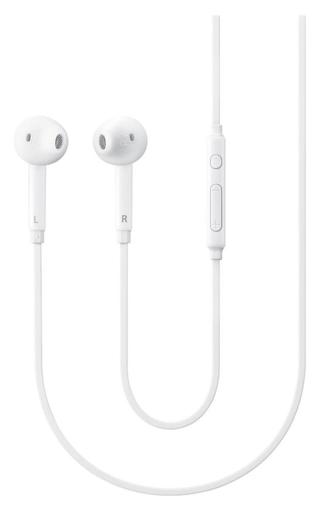 Samsung EO-EG920B sluchátka s mikrofonem, bílá