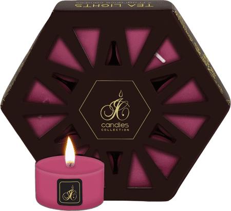JCandles Čajové sviečky Jasmin & Orchid 7 ks