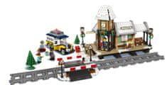 LEGO Creator Expert 10259 Nádraží v zasněžené vesnici