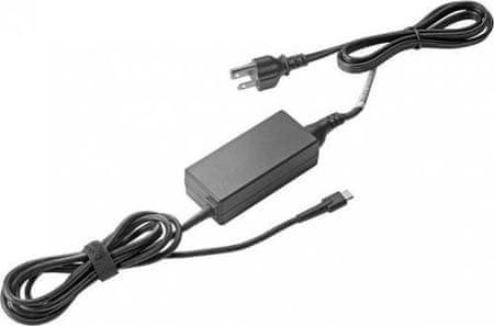HP napajalnik USB-C, 45 W