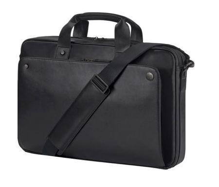 HP torba za prenosnik 15.6 Exec Black Leather Top Load
