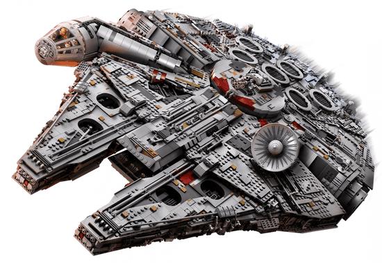 LEGO set Star Wars 75192 Millennium Falcon