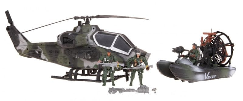 Alltoys Sada vojáci - akční set s vozidly a doplňky