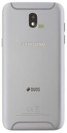 SAMSUNG Kryt Batérie pre Samsung J530 Galaxy J5 2017, strieborný