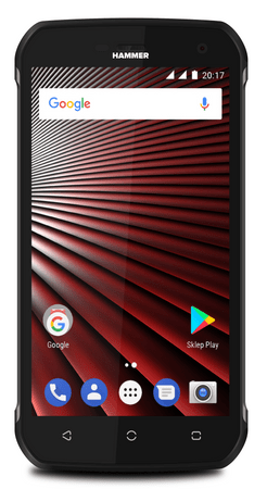 myPhone HAMMER BLADE, Dual SIM, srebrny