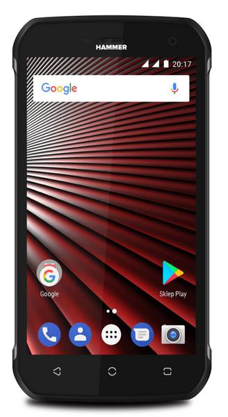 myPhone HAMMER BLADE, Dual SIM, stříbrný