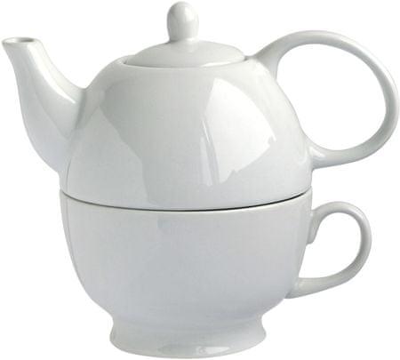 TORO Kanvica na čaj 480 ml so šálkou fade529c00d