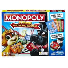 Hasbro Monopoly Junior Electronic Banking CZ/SK