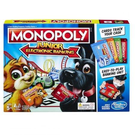 HASBRO Monopoly Junior Electronic Banking CZ/CK