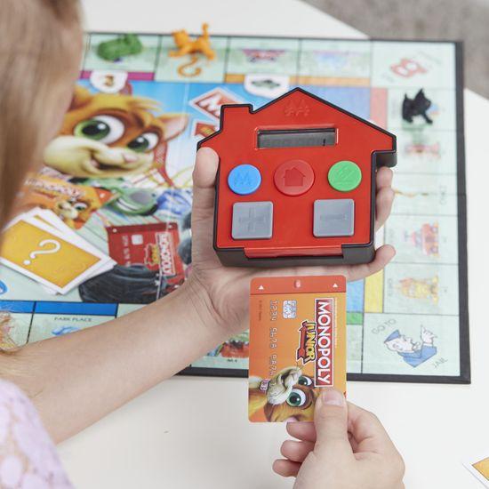 HASBRO Monopoly Junior Electronic Banking - SK
