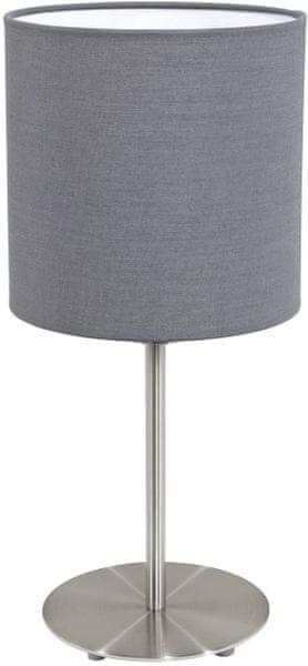 Eglo Stolní svítidlo PASTERI šedá - 31596