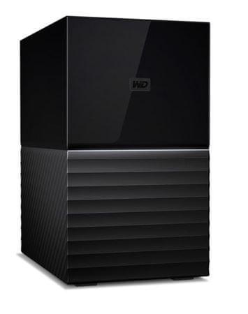 WD zunanji trdi disk My Book Duo 20TB USB-C 3.1 (WDCHD-WDBFBE0200JBK)