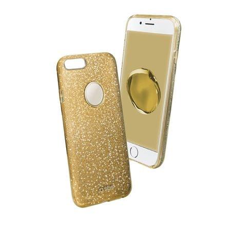 SBS ovitek z bleščicami za iPhone 7/8 Plus, zlat