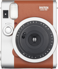 FujiFilm Instax mini 90 hnědá + 1x10 film a pouzdro - rozbaleno