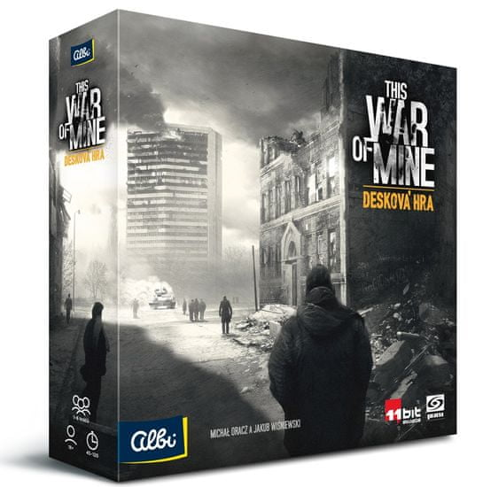 Albi This War of Mine – Desková hra