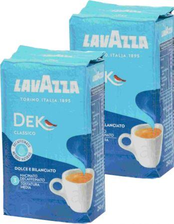 Lavazza DEK Decaffeinato mleta kava 2x250 g