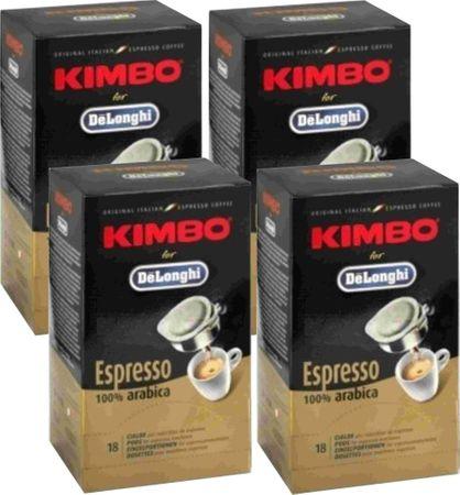Lavazza 100 % Arabica kava, 4x18 500 g