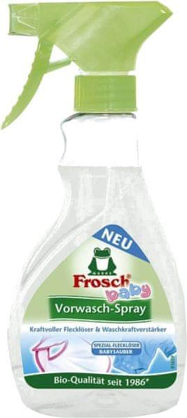 Frosch EKO Sprej na skvrny na kojeneckém prádle 300ml