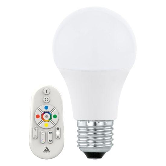 Eglo LED Stmívatelná žárovka CONNECT E27/9W + dálkové ovládání - 11585 - zánovní