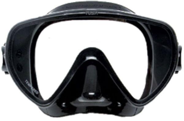 TUSA Maska CONCERO typ Frameless TUSA, černá/černý rám